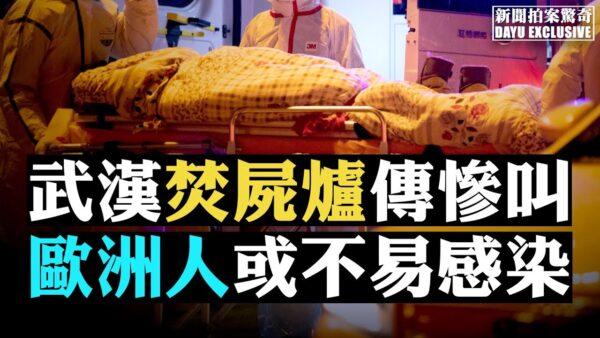 【拍案惊奇】武汉焚尸炉传出惨叫 欧洲人或不易感染