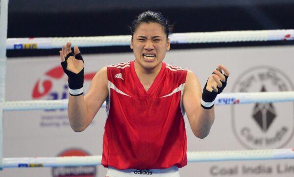 台湾拳击女将陈念琴 取得东奥门票