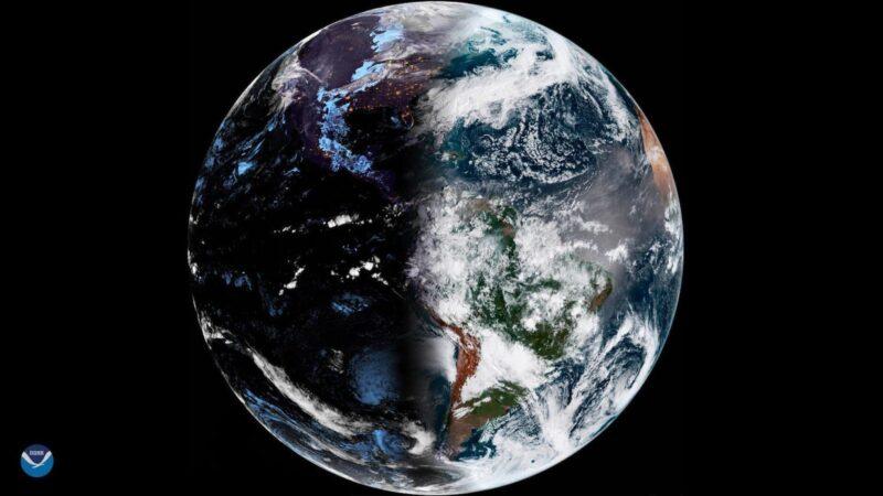 地球的白天黑夜完美平衡点