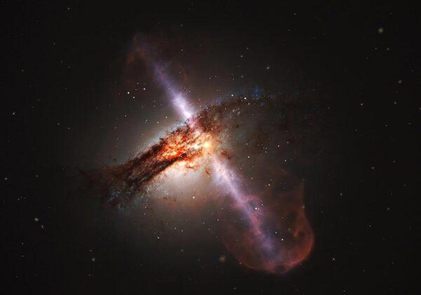 戴上3D眼镜看到的类星体是什么样?