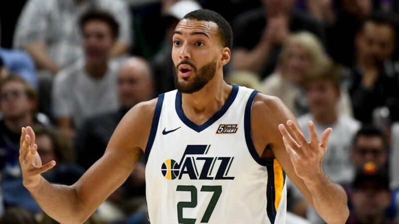 爵士戈伯特染疫 NBA宣布無限期停賽