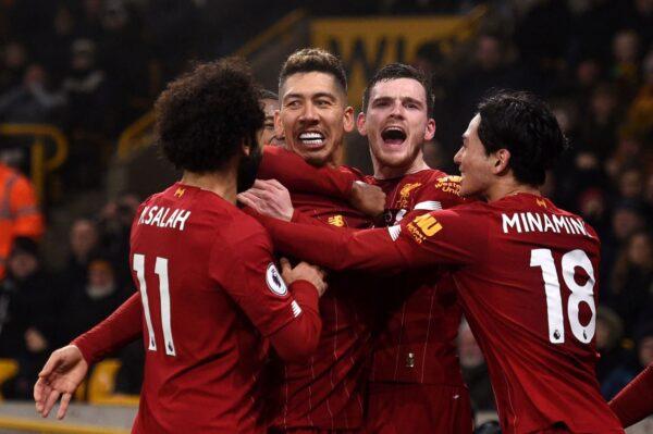 英超停摆 利物浦夺冠无异议 降级恐难确定