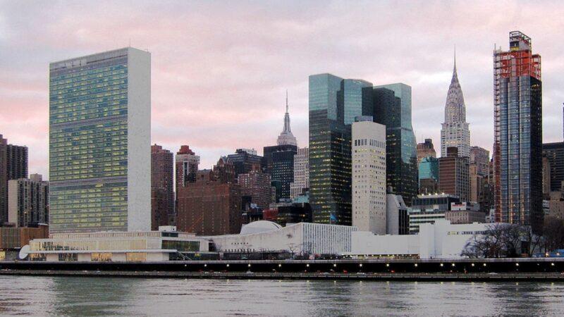 武漢肺炎 聯合國總部淪陷 紐約市民囤物資