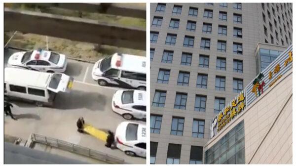 惨!回国留学生在上海隔离点跳楼亡(视频)