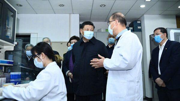 习近平2度戴口罩北京视察 拒去武汉内情曝光