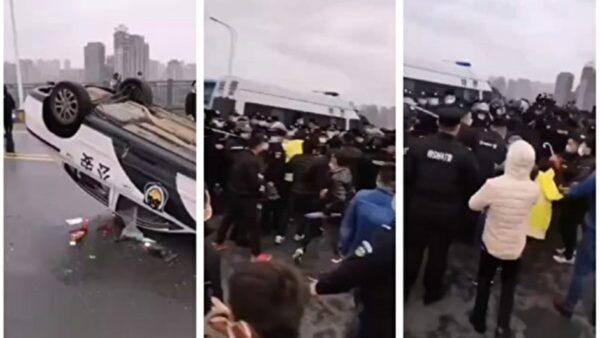 湖北江西警方混戰 習近平外防暴亂內防政變