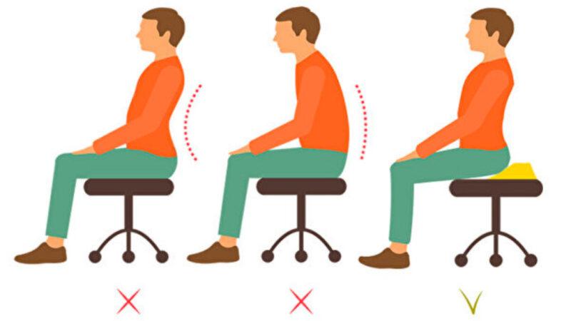 坐在椅子前端最好?久坐不伤身的三大秘诀(组图)