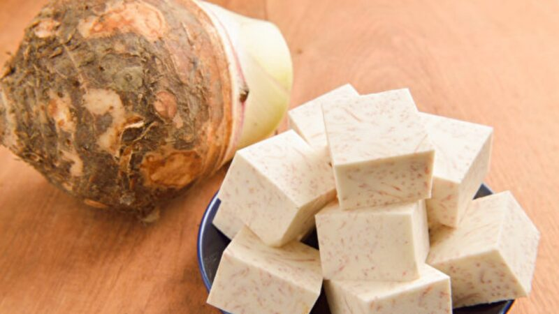芋頭是「天然養顏食物」 還能抗癌解毒