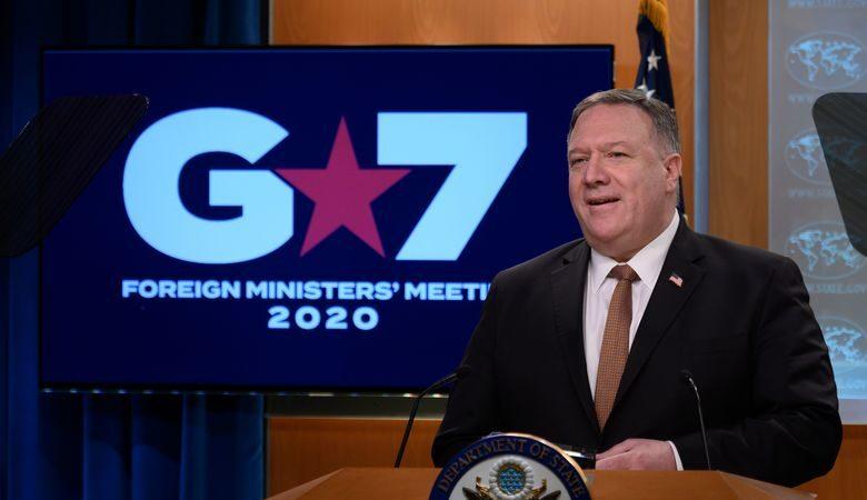 蓬佩奥:G7一致认为 中共就疫情发动假讯息攻势