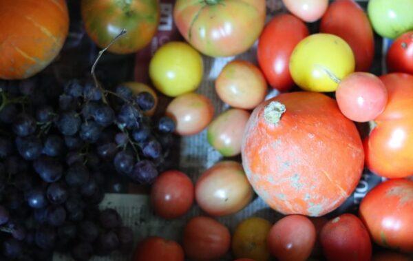 蔬果摸來摸去 會不會殘留病毒?(圖)