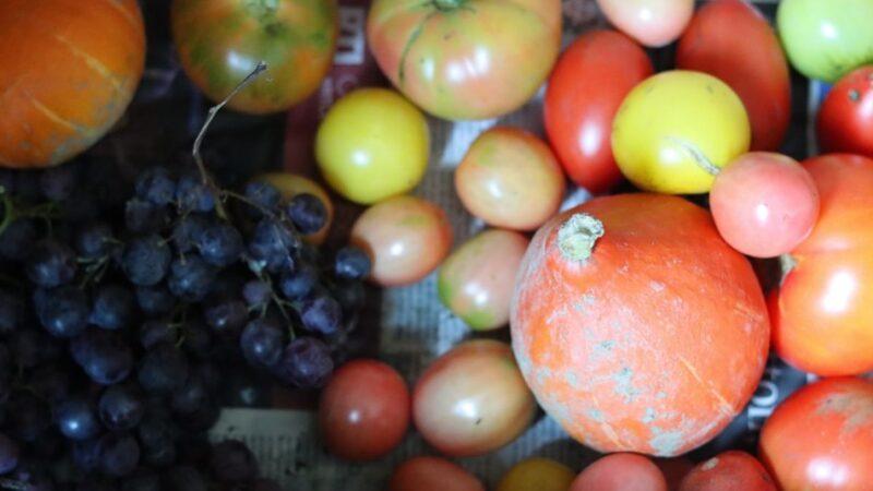 蔬果摸来摸去 会不会残留病毒?(图)