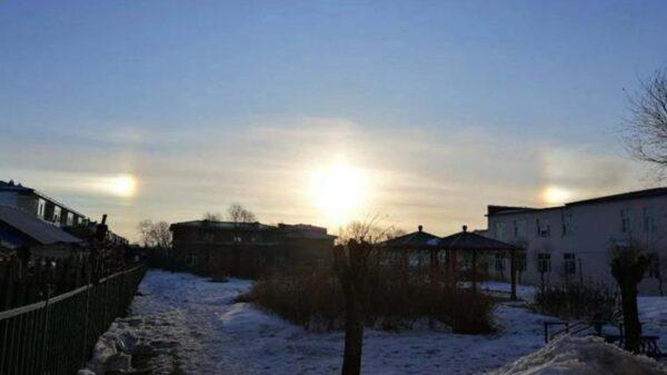 异象频出!黑龙江虎林惊现3个太阳