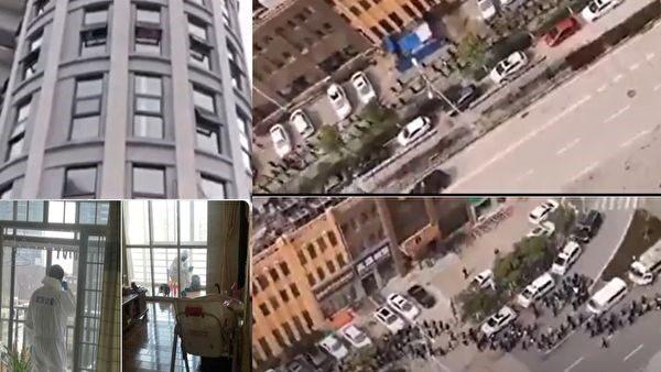 袁斌:習近平視察武漢小區為何沒人喊「假的」