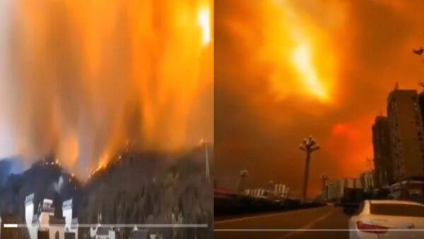 詭異!今年去年同月同日發生森林大火 難道天有預兆?