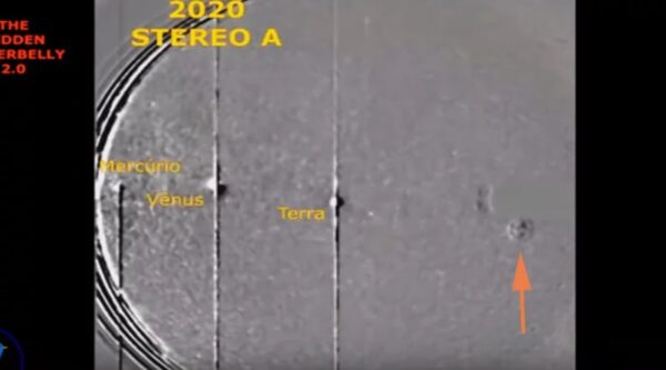 比土星還大的UFO進入太陽系 外星人來關心地球上的武漢肺炎疫情?(視頻)