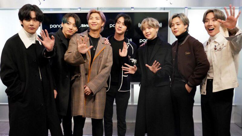 BTS摘告示牌Hot 100第4名 再刷新韩团纪录