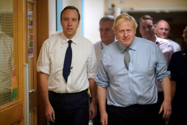 首相卫生大臣相继染中共肺炎 英内阁人人自危
