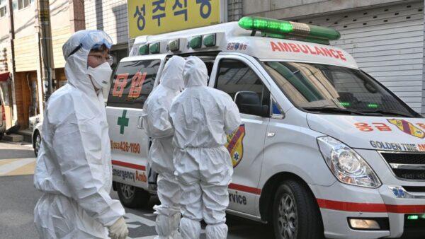 """韩国疫情确诊超3000例 76国下""""限韩令"""""""