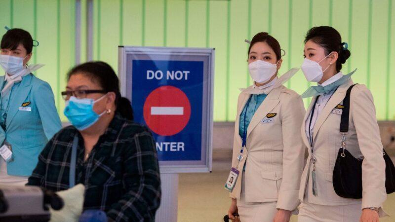 洛杉磯機場兩檢疫官染武漢肺炎 自行隔離