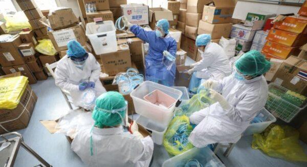 不能公开疫情不能戴口罩 陆媒揭武汉医院最黑暗时刻