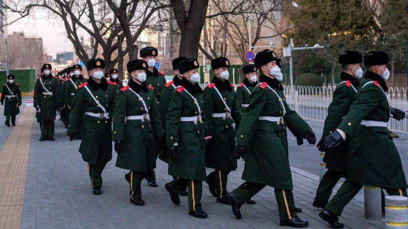 疫情威脅北京軍隊大院 家屬探親像探監