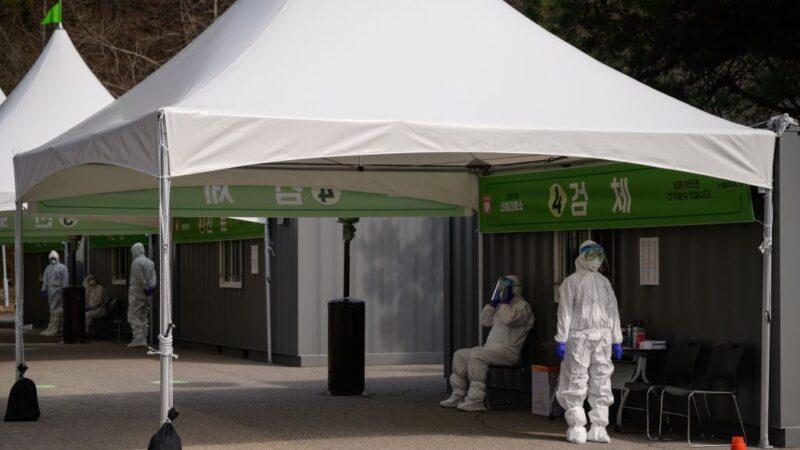 武汉肺炎 韩国确诊累计7134例