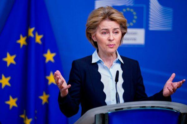 武漢病毒肆虐 歐盟限制口罩防護具出口