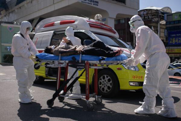 韩再爆群聚感染 大邱5疗养医院至少87例确诊