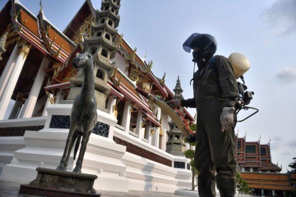 泰国防中共肺炎疫情扩大 26日进入紧急状态