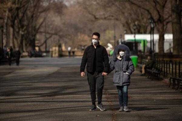美研究證實:中共病毒空氣中可存活數小時