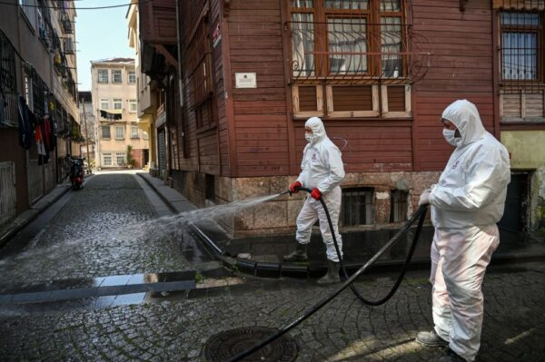 中共肺炎 土耳其大增311例5死