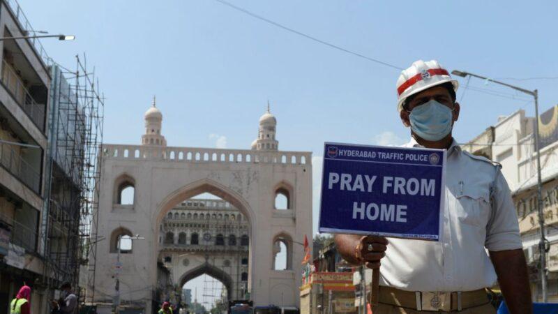 防中共肺炎蔓延 印度锁国21天 全球逾26亿人禁足