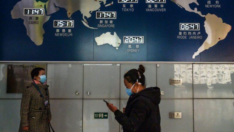 中共暂禁外国人入境 国际航线每周仅限一班