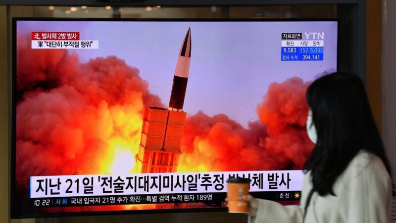 """乘疫捣""""弹""""!朝鲜朝日本海发射2枚疑似弹道飞弹"""