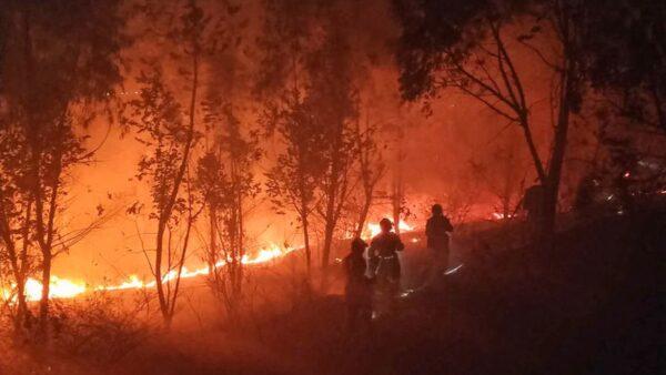 四川森林大火直逼衛星發射中心 致19死3傷