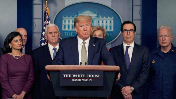 川普:中共肺炎或持续到8月  美国经济恐现衰退
