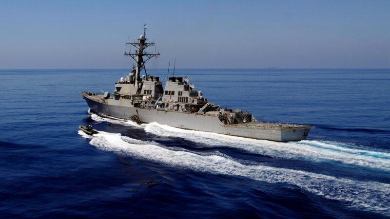 朱兆基:美艦在南海開火了嗎? 開了 但這其實是一場輿論戰