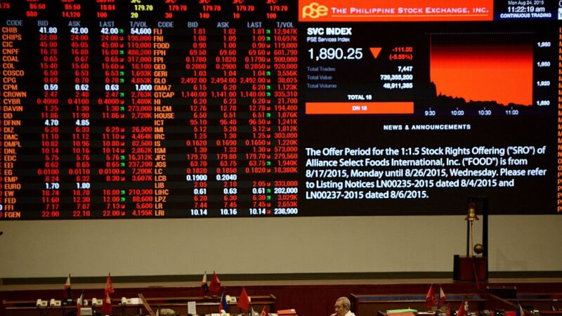 中共肺炎 全球首關金融市場 菲律賓股匯交易停擺