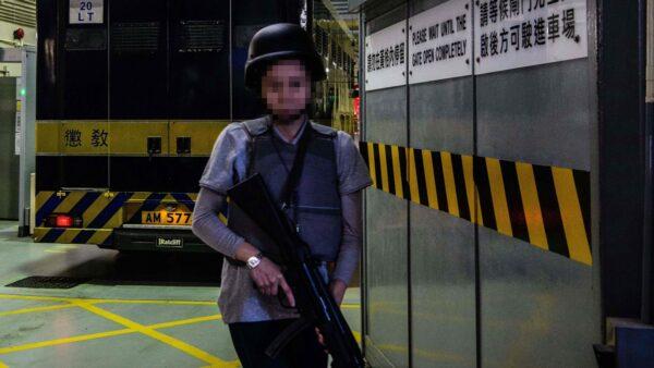 香港22岁女警确诊前 与30名同事靶场练枪