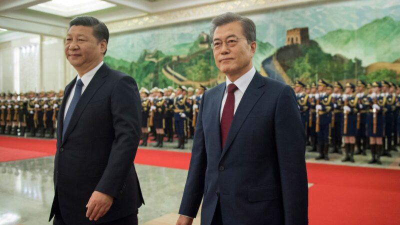 大紀元獨家揭祕:中共對韓國「欲擒故縱」