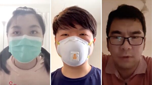 海外华人向世界道歉:中共带来病毒和屠杀