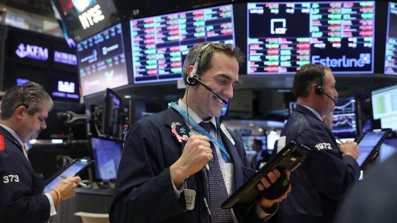 道指飆升1300點 創美股單日最高漲幅