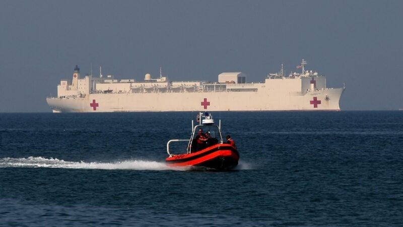 可援助千张病床 海军医院舰分派纽约和美西