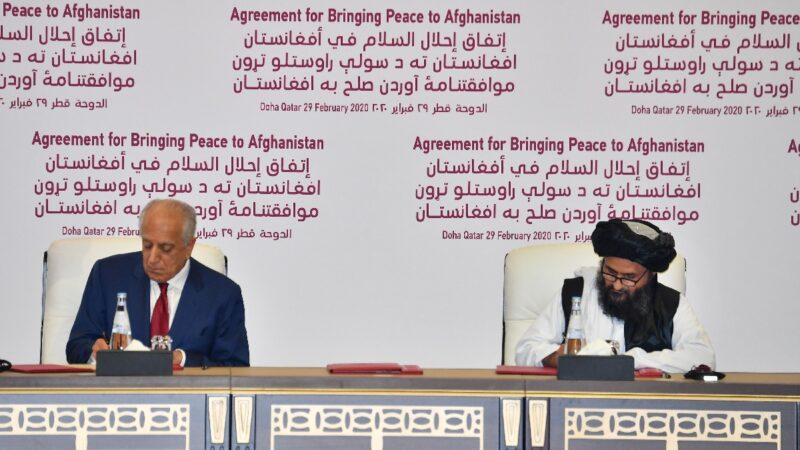 塔利班继续攻击阿政府军 美签协议后首次空袭示警