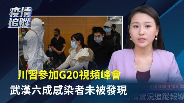 【重播】3.26中共病毒疫情追蹤:川習參加G20視頻峰會