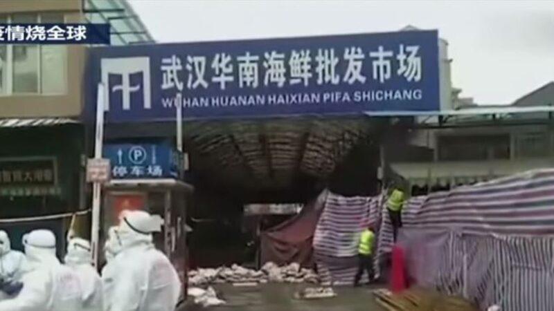 毁灭证据?武汉华南海鲜市场开始全面消杀(视频)