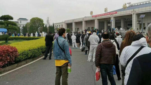 中国作家:武汉人连悲伤的权利都被剥夺
