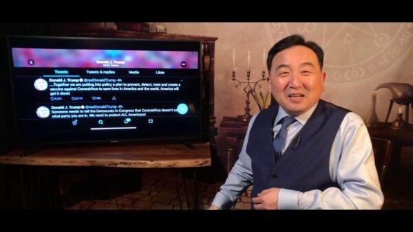 《石涛聚焦》川普醒了:武汉病毒是全世界的敌人