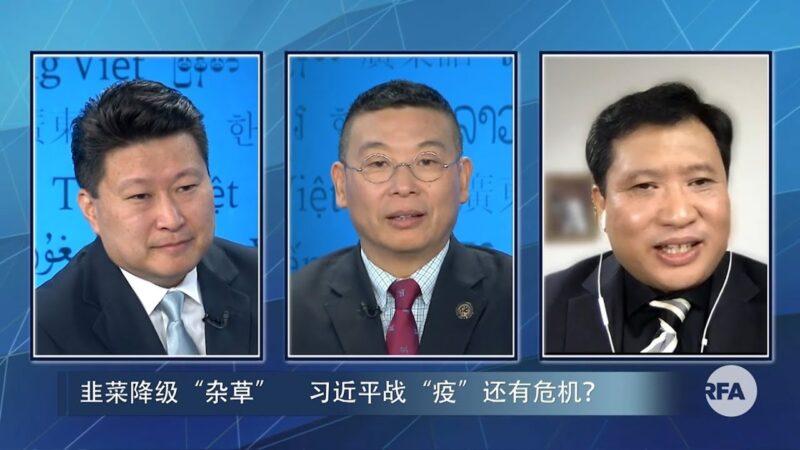 【江峰時刻】韭菜降級「雜草」 習近平戰「疫」還有危機?