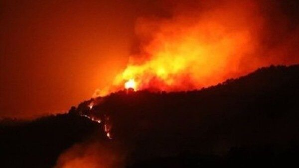山西森林大火撲不滅 連燒7天官方才報導